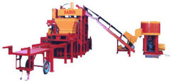 Semi Automatic Hydraulic Hollow Block Making Machine