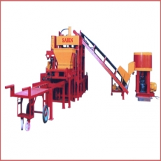 Semi Automatic Hydraulic Hollow Block, Paver Block And Fly Ash In One Machine