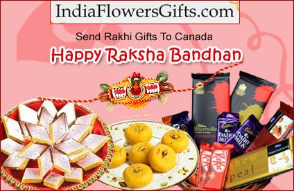 Send Rakhi Gifts to Canada
