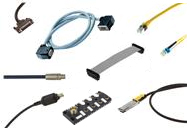System cables, cable assemblies and I/O boxes