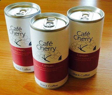 Canned Healthy Coffee, Cafe Cherry
