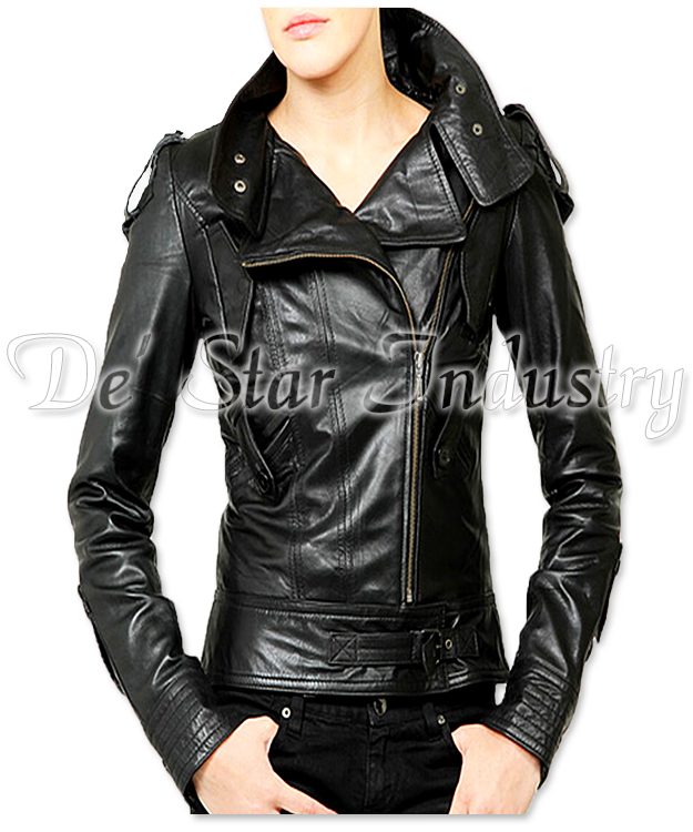 Women Fashion Leather Jackets