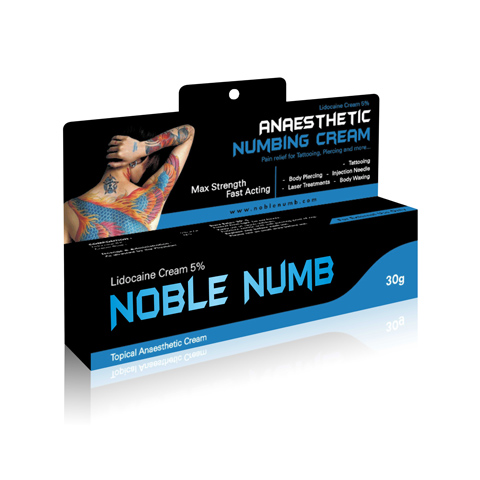 NobleNumb Topical Anasthetic Cream