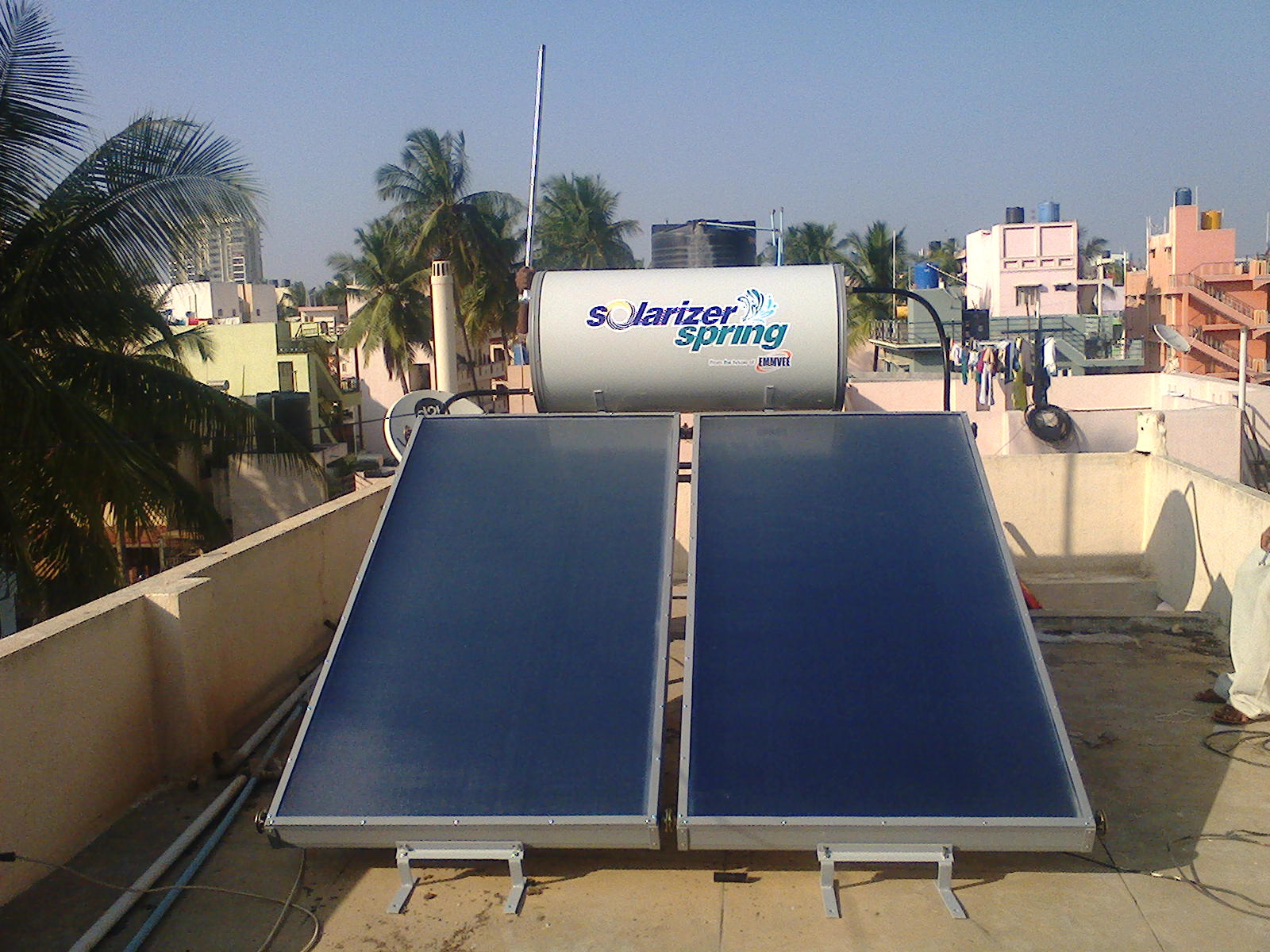 solarizer water heater