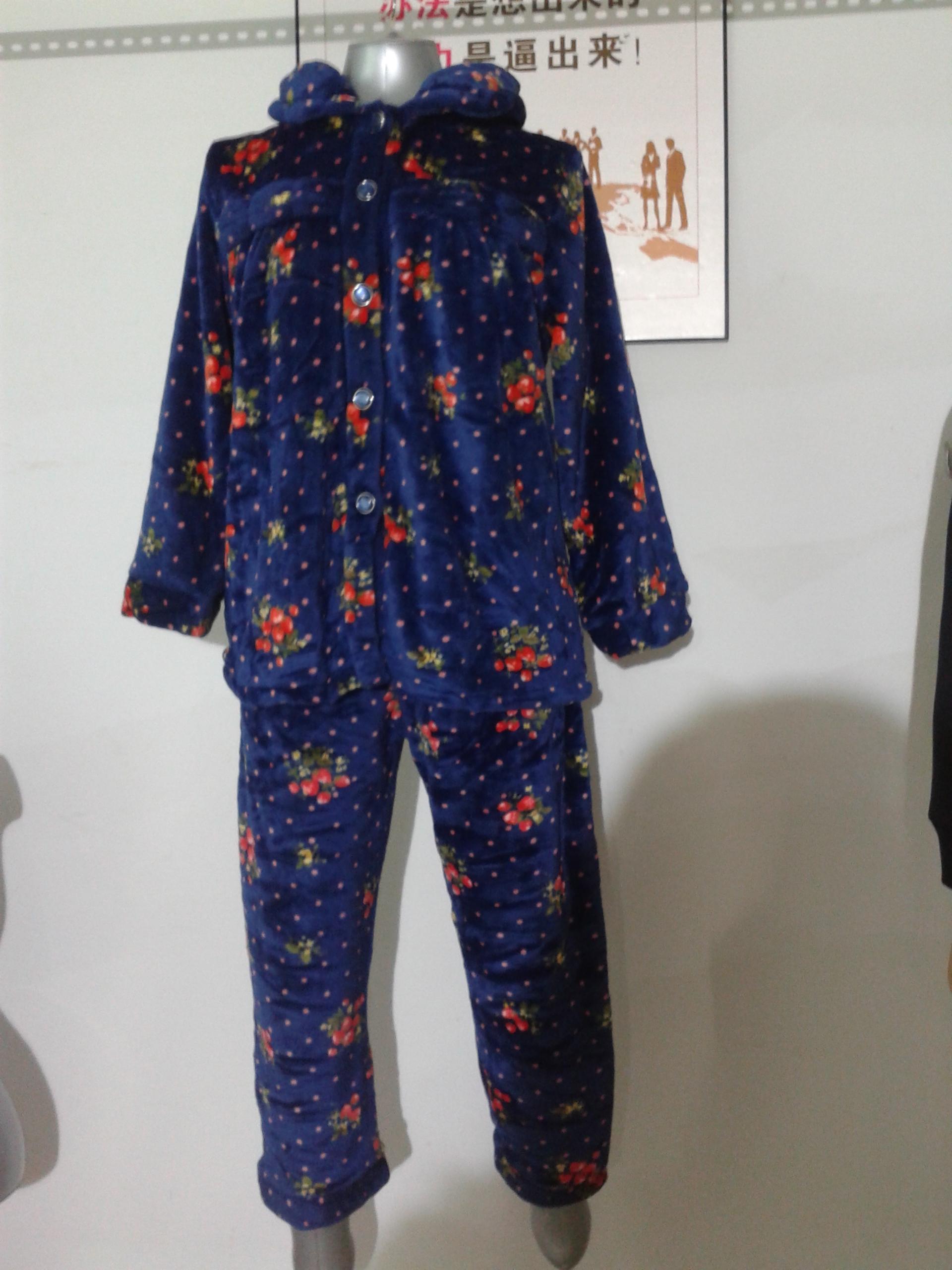 lady printing pajamas