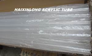 Transparent Clear Acrylic Tube
