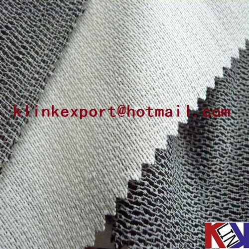 Plump Hand feeling knitted fusible interlining