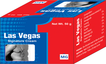 Las Vegas signature Cream