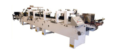Carton Folder and Gluer Machine