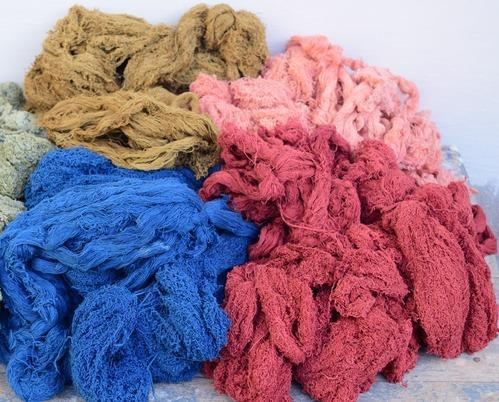 Natural Dyed Organic Cotton Yarn