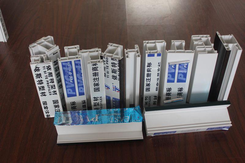 upvc profile, extrusion profile, plastic profile, window profile