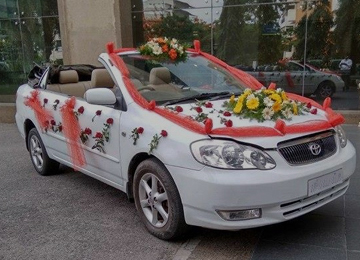 Wedding Car Rental India