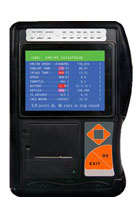 Car Scanner JBT with printer
