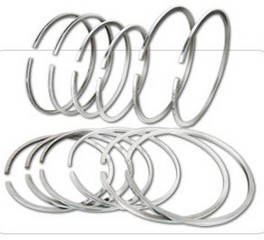 Piston rings for inner hydraulic cylinders