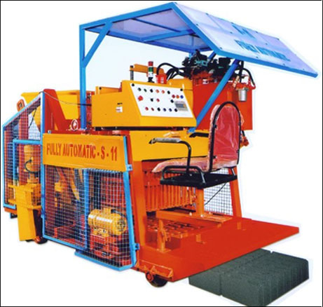 Fully Automatic Egg Laying Type Block Machine