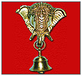 Brass Elephant Bell
