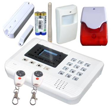 GSM House Alarm System S100