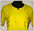 Kurta yellow