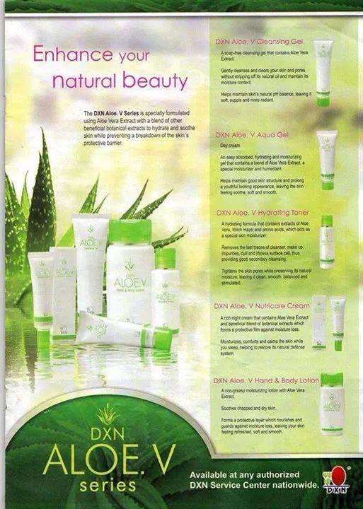 DXN ALOE. V (Facial Cleansing Gel)
