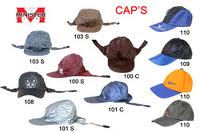 caps and plastic molding hats