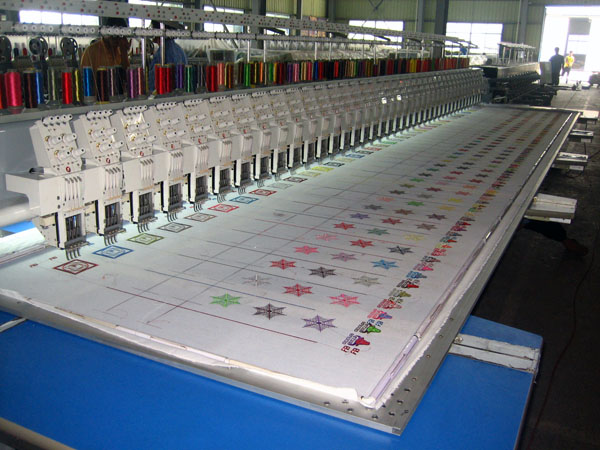 MAYASTAR Multihead Flat Embroidery Machine
