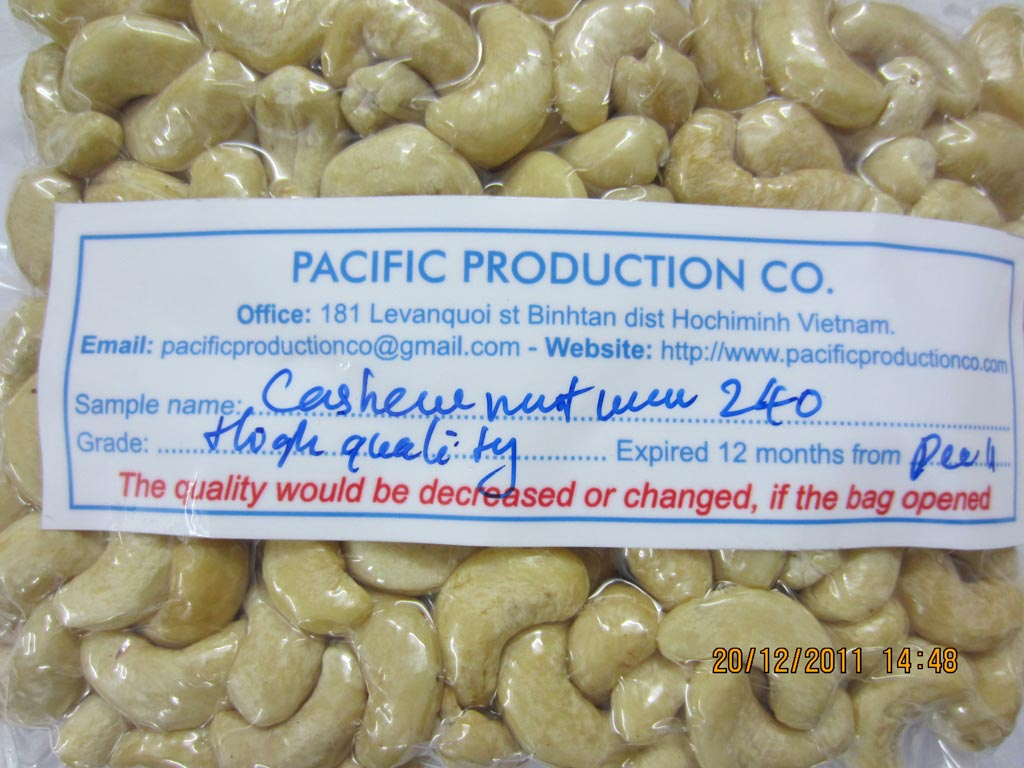 Sell cashew nut ww240, ww320, ww450 ws