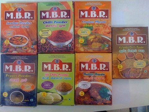 MBR Curry Powder / MBR Masala