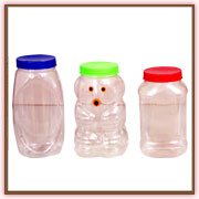 Pet Plastic Confectionary Jar