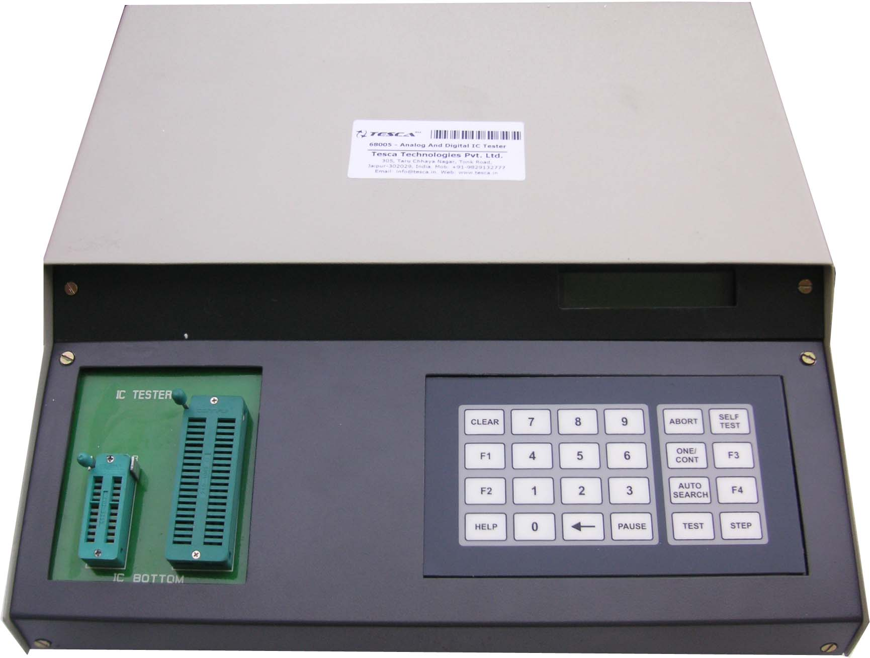 Analog & Digital IC Tester