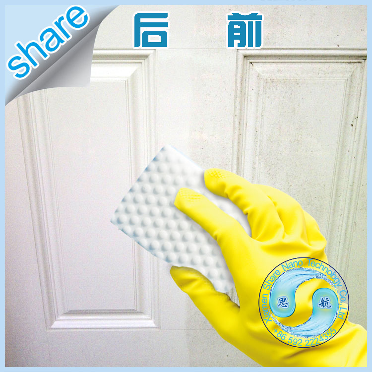 New Invention Pravite Logo Products Clean Cleaner Melamine Foam