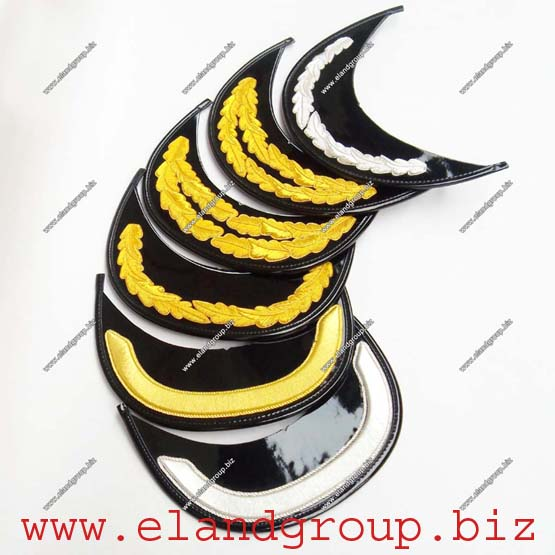 Military Officers Cap Peak