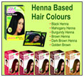 Henna Based Hair Dyes