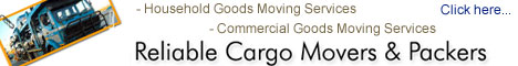 Move to Reliable Cargo Movers And Packers